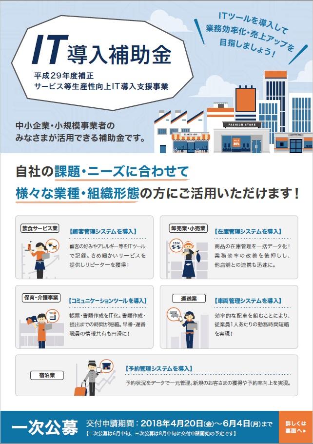 ITツールを導入し業務効率化・売上UPを!!のイメージ